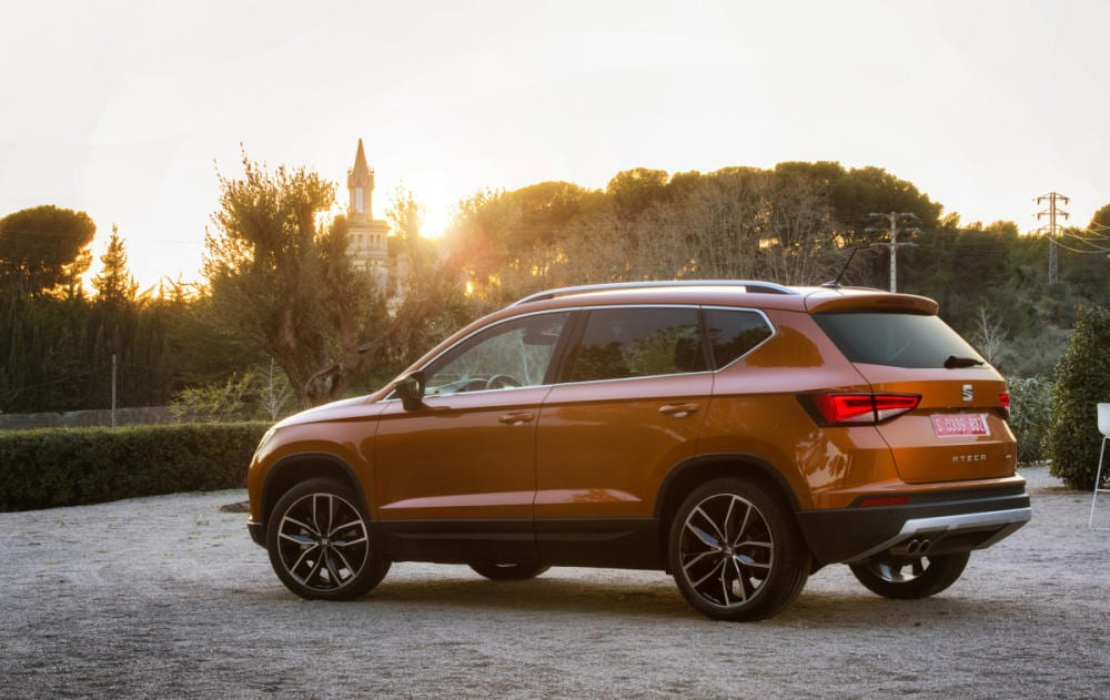 SEAT Ateca color naranja